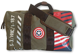 Marvel Captain America Vintage Canvas Duffle Bag