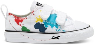 Converse Toddler Boy's Chuck Taylor All Star 2V Geography Sneakers