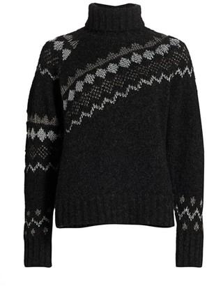 Derek Lam 10 Crosby Grammer Turtleneck Sweater