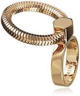 Lara Bohinc Schumacher Yellow Gold Plated Ring