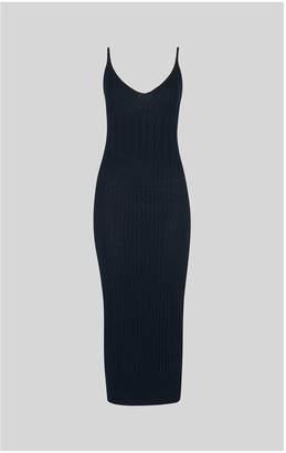 Whistles Rib Detail Knitted Cami Dress