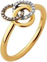 Links of London Treasured Gold & Diamond Ring