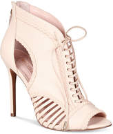 Avec Les Filles Joyce Lace-Up Open-Toe Shooties, Only at Macy's