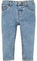 River Island Mini girls blue acid wash skinny jeans