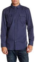 Burnside Regular Fit Solid Shirt