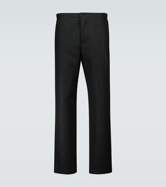 Wardrobe NYC Elasticated wool formal pants