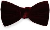 Saint Laurent Velvet bow tie
