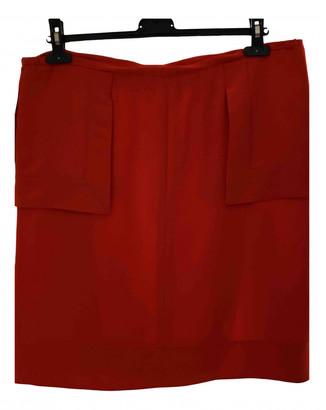 Fendi Orange Polyester Skirts