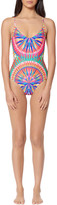 Mara Hoffman Lace Up Back One Piece
