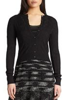 M Missoni Basic Cropped Cardigan