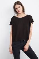 Addie Linen Boat Neck Tee
