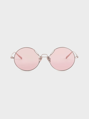 Charles & Keith Round Tinted Sunglasses
