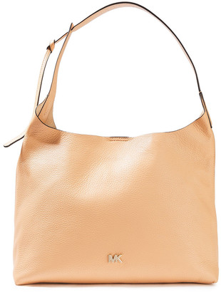 MICHAEL Michael Kors Pebbled-leather Shoulder Bag