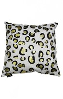 Kensie Metallic Animal Print Pillow
