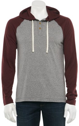 Sonoma Goods For Life Men's Supersoft Hoodie Henley