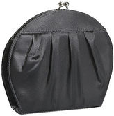 Coloriffics Round Pleated Satin Evening Bag