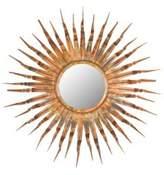 Safavieh Iron, Wood & Glass Sun Mirror