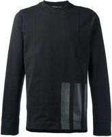 Y-3 striped trim T-shirt - men - Cotton - XS