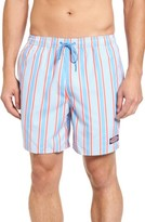 Vineyard Vines Men's Vineyard Stripe Chappy Swim Trunks