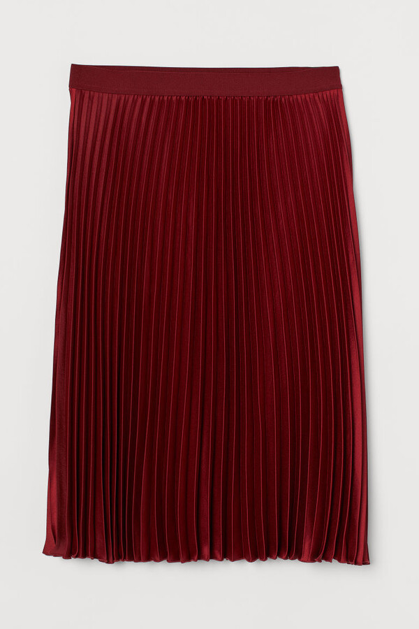 Thumbnail for your product : H&M H&M+ Pleated skirt