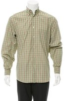 Ermenegildo Zegna Plaid Button-Up Shirt