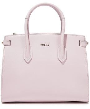 Furla Pin Small Textured-leather Tote