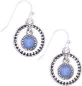 Nine West Faux Lapis Lazuli Drop Earrings