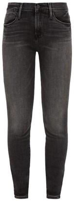Frame Le High Skinny Jeans - Dark Grey