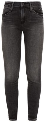 Frame Le High Skinny Jeans - Womens - Dark Grey