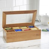 KSP Chi Bamboo Tea Box 8 Compartments (Natural)