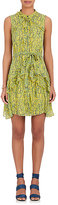 Saloni Women's Tilly B Floral Silk Sleeveless Dress