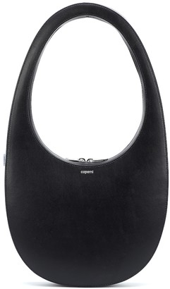 Coperni Swipe Large leather shoulder bag