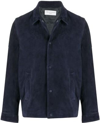 Officine Generale suede shirt jacket