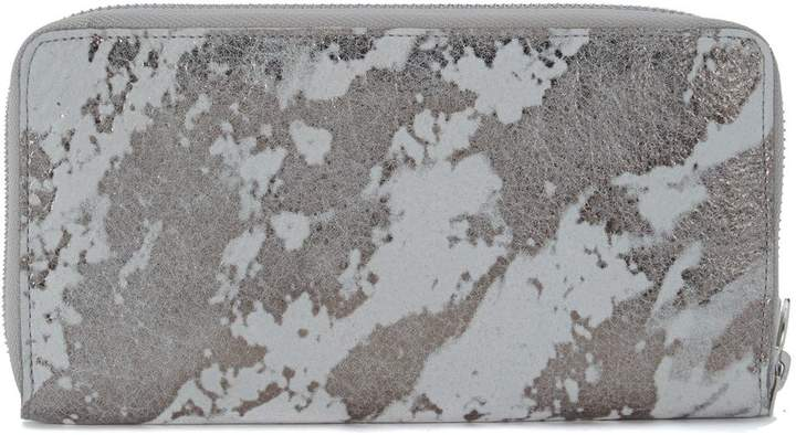 MM6 MAISON MARGIELA Wallet Insilver And White Leather