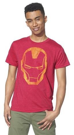 Marvel Men's Ironman T-Shirt Red