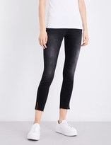 Calvin Klein Twisted skinny mid-rise jeans