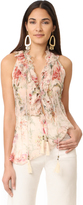 Zimmermann Mercer Cream Floral Blouse