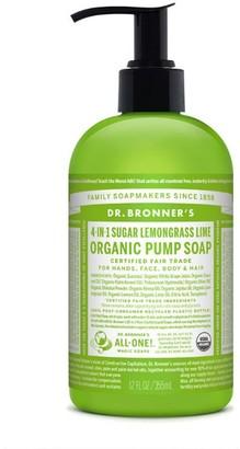 Dr. Bronner's 4-In-1 Sugar Organic Pump Soap 355Ml