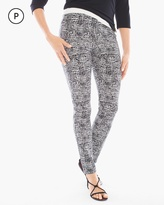 Chico's Abstract Slim-Fit Pants