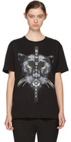 Marcelo Burlon County of Milan Black new Renaissance Mank T-shirt