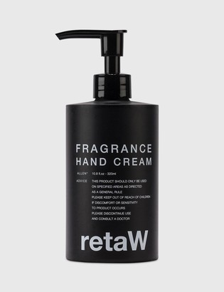 retaW ALLEN* Fragrance Hand Cream