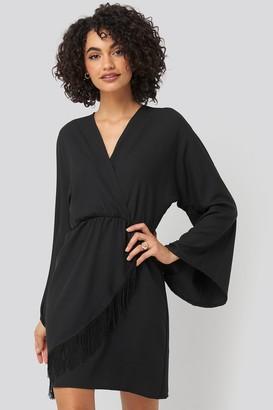 Trendyol Mini Tasseled Dress