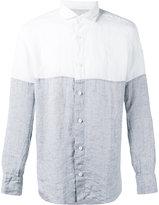 Eleventy Dandy shirt - men - Linen/Flax - 41