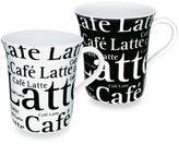 Bed Bath & Beyond Mug With Cafe Latte Wording