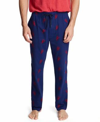 Nautica Men's Soft Knit 100% Cotton Elastic Waistband Sleep Lounge Pant