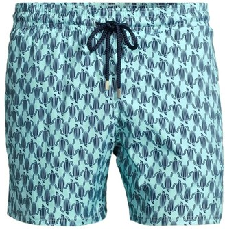 Vilebrequin Armour Turtles Stretch Swim Shorts