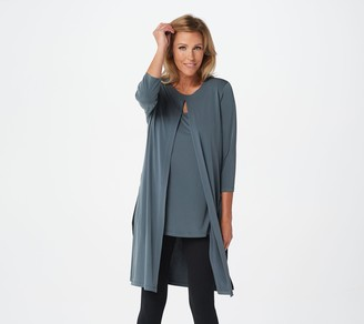 Susan Graver Every Day by Regular Liquid Knit Tunic