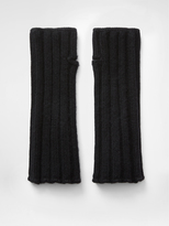 DKNY Wide Rib Cashmere Gloves