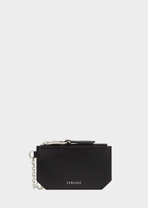 Versace Leather Coin Purse