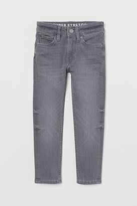 H&M Superstretch Skinny Fit Jeans - Gray